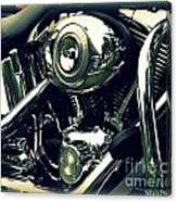 Classic Harley Canvas Print