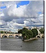 Classic Paris Canvas Print