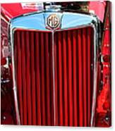 Classic Red Mg Canvas Print