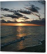 Classic Sunset Canvas Print