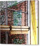 Classroom Window Canvas Print