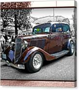 Classy Brown Ford Canvas Print