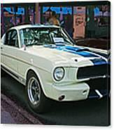 Classy Mustang Canvas Print