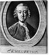 Claude Adrien Helvetius Canvas Print