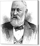 Claus Spreckels (1828-1908) Canvas Print