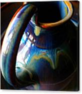 Clay Pitcher Canvas Print