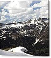 Clear Day On Rendezvous Mountain Canvas Print