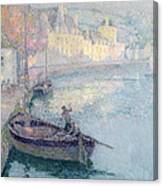 Clear Morning - Quimperle Canvas Print
