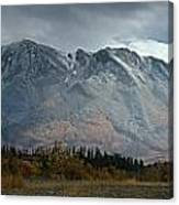 Clearing Storm Over North Canol Road Canvas Print