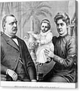 Cleveland Family, C1893 Canvas Print