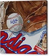 Cleveland Legend Bob Feller Canvas Print