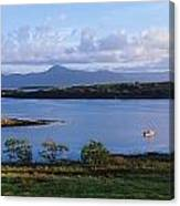 Clew Bay, Co Mayo, Ireland Canvas Print