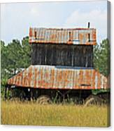 Clewis Family Tobacco Barn II Canvas Print