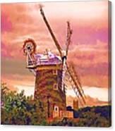 Cley Windmill 2 Canvas Print