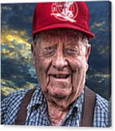 Cliff - Proud Member Of Napanee's Walker Brigade Canvas Print