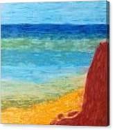 Cliff Hangar Canvas Print