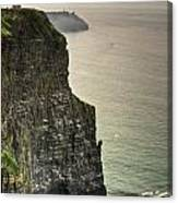 Cliff Of Moher 20 Canvas Print