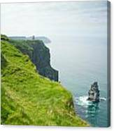 Cliff Of Moher 24 Canvas Print