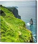 Cliff Of Moher 25 Canvas Print