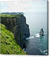 Cliff Of Moher 28 Canvas Print