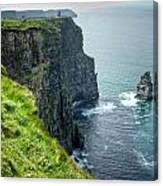 Cliff Of Moher 29 Canvas Print