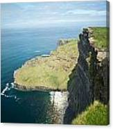 Cliff Of Moher 30 Canvas Print