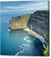Cliff Of Moher 32 Canvas Print
