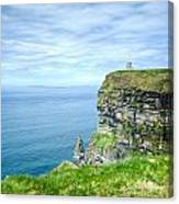Cliff Of Moher 34 Canvas Print