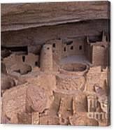 Cliff Palace At Mesa Verde Canvas Print