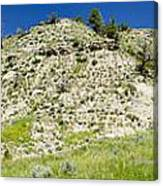Cliff Side Panorama Canvas Print
