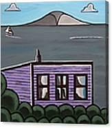 Cliff Top Canvas Print