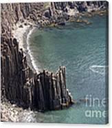 Cliffs At Grand Manan Island, Canada Canvas Print