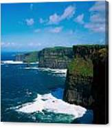 Cliffs Of Moher, Co Clare, Ireland Canvas Print