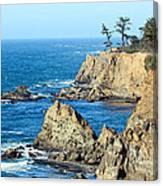 Cliffside Oceanview Canvas Print