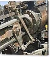 Climax Locomotive Canvas Print