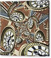 Clocked Canvas Print