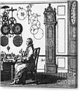 Clockmaker Canvas Print