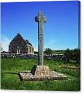 Cloncra Church, Inishowen Peninsula Canvas Print