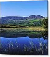 Clonee Loughs Co Kerry, Ireland Lake Canvas Print