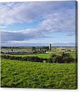 Clonmacnoise, Co Offaly, Ireland Canvas Print