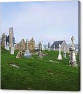 Clonmacnoise Monastery, County Offaly Canvas Print