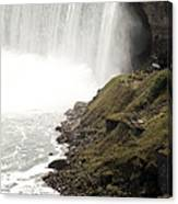 Close To The Falls Canvas Print