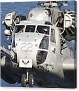 Close-up Of A Ch-53 Sea Stallion Canvas Print