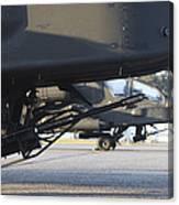 Close-up View Of The M230 Chain Gun Canvas Print
