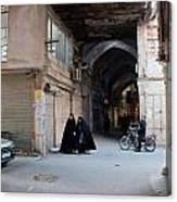 Closed Bazar In Esfahan Canvas Print