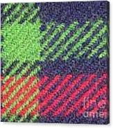 Closeup Of Multi-colored Fabric Canvas Print