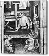 Cloth Merchant Canvas Print