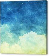 Cloud And Sky Canvas Print