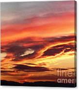 Cloud Face Canvas Print