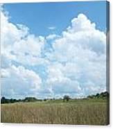 Cloud Filled Sky Canvas Print